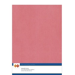 (LKK-A442)Linen Cardstock - A4 - Flamingo