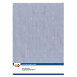 (LKK-A452)Linen Cardstock - A4 - oudblauw