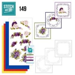 (STDO149)Stitch and Do 149 - Precious Marieke - Romantic Roses
