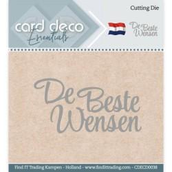 (CDECD0038)Card Deco Essentials - Cutting Dies - De Beste Wensen