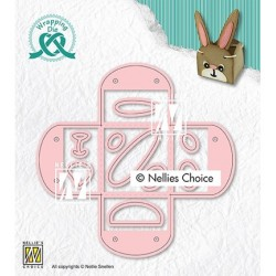 (WPD014)Nellie`s Choice Wrapping Dies Egg-cup