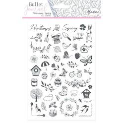 (03933)Aladine Stamp Bullet Journal Spring