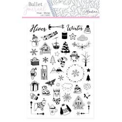 (03936)Aladine Stamp Bullet Journal Winter