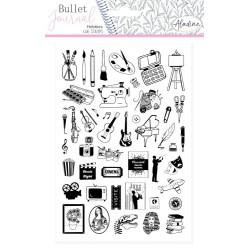 (03942)Aladine Stamp Bullet Journal Hobbies