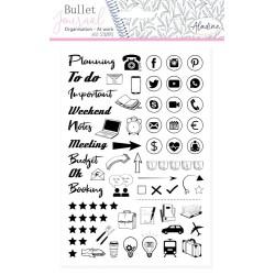 (03952)Aladine Stamp Bullet Journal Office Desk