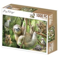 (ADZP1007)Jigsaw puzzel 1000 pc - Amy Design - Sloth