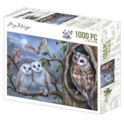(ADZP1008)Jigsaw puzzel 1000 pc - Amy Design - Amazing Owls