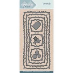 (CDECD0057)Card Deco Essentials - Slim Line Dies - Slimline Balloons