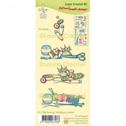 (55.7286)Clear Stamp combi Sewing, knitting & crochet