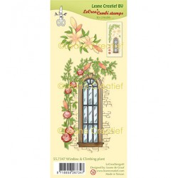 (55.7347)Clear Stamp combi Window with Climbing plant