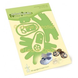 (45.7262)Lea'bilitie Baby shoe - slipper cutting die