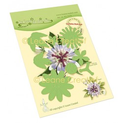 (45.7279)Lea'bilitie Passion flower 21. cut and embossing die