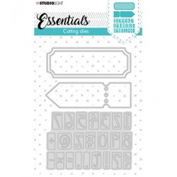(STENCILSL360)Studio Light Cutting and Embossing Die Essentials - nr.360