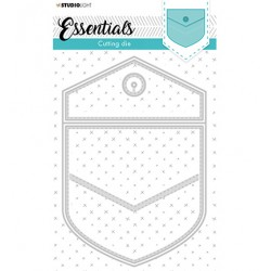 (STENCILSL367)Studio Light Cutting and Embossing Die Essentials - nr.367
