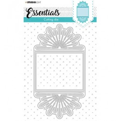 (STENCILSL368)Studio Light Cutting and Embossing Die Essentials - nr.368