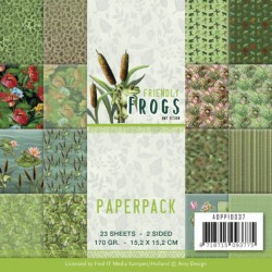 (ADPP10037)Paperpack - Amy Design - Friendly Frogs