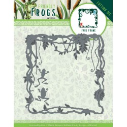 (ADD10227)Dies - Amy Design - Friendly Frogs - Frog Frame