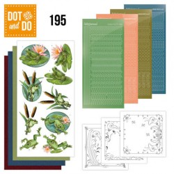 (DODO195)Dot and Do 195 - Amy Design - Friendly Frogs