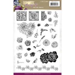 (PMCS10047)Clear Stamps - Precious Marieke - Romantic Roses