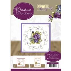 (CB10022)Creative Embroidery 22 - Precious Marieke - Romantic Roses