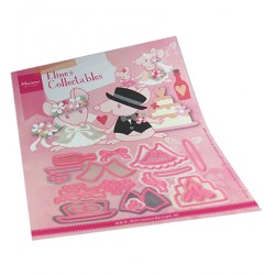 (COL1491)Collectables Eline's wedding accessories