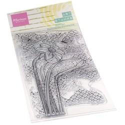(MM1641)Art stamps Daffodile