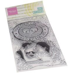 (MM1642)Art stamps Together forever
