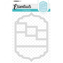 (STENCILSL369)Studio Light Cutting and Embossing Die Essentials - nr.369