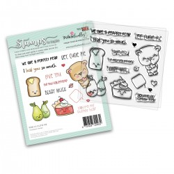 (PD8116)Polkadoodles Cutie Pie Clear Stamps