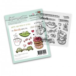 (PD8117)Polkadoodles Donuts About You Clear Stamps