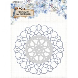 (EMBCNB09)Studio Light Cutting and Embossing Die Cut Celebrate new beginnings nr.9
