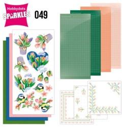 (SPDO049)Sparkles Set 49 - Jeanine's Art - Tulips and Blossom