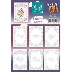 (COSTDOA610007)Cards Only Stitch A6 - 007