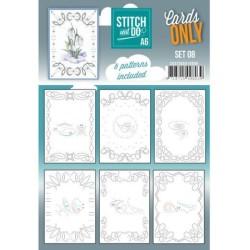 (COSTDOA610008)Cards Only Stitch A6 - 008