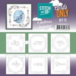 (COSTDO10072)Cards Only Stitch 4K - 72