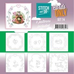 (COSTDO10074)Cards Only Stitch 4K - 74