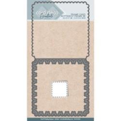 (CDCD10026)Card Deco Essentials - Cutting Dies - Butterfly Frame 4K