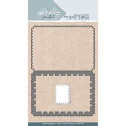 (CDCD10027)Card Deco Essentials - Cutting Dies - Butterfly Frame A5