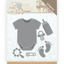 (YCD10233)Dies - Yvonne Creations - Newborn - Baby Bodyvest
