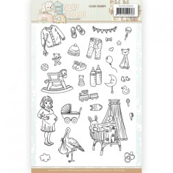 (YCCS10064)Clear Stamps - Yvonne Creations - Newborn