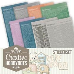 (CHSTS011)Creative Hobbydots Stickerset 11 - Yvonne Creations - Newborn