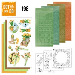 (DODO198)Dot and Do 198 - Jeanine's Art - Welcome Spring