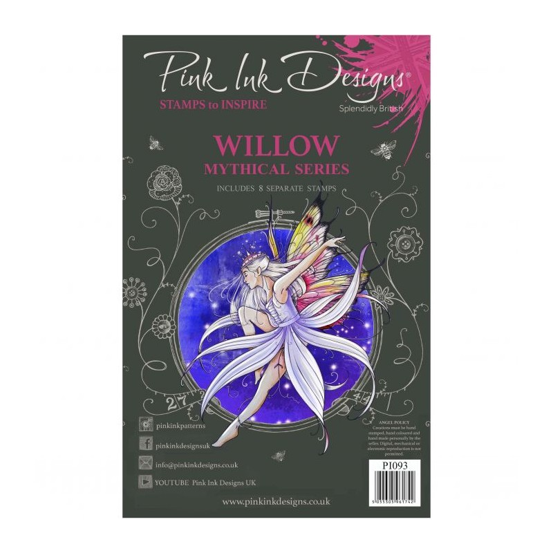 (PI093)Pink Ink Designs Clear stamp set Willow