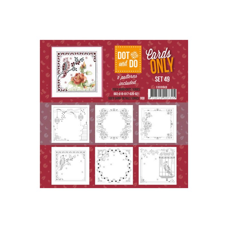 (CODO049)Dot and Do - Cards Only - Set 49