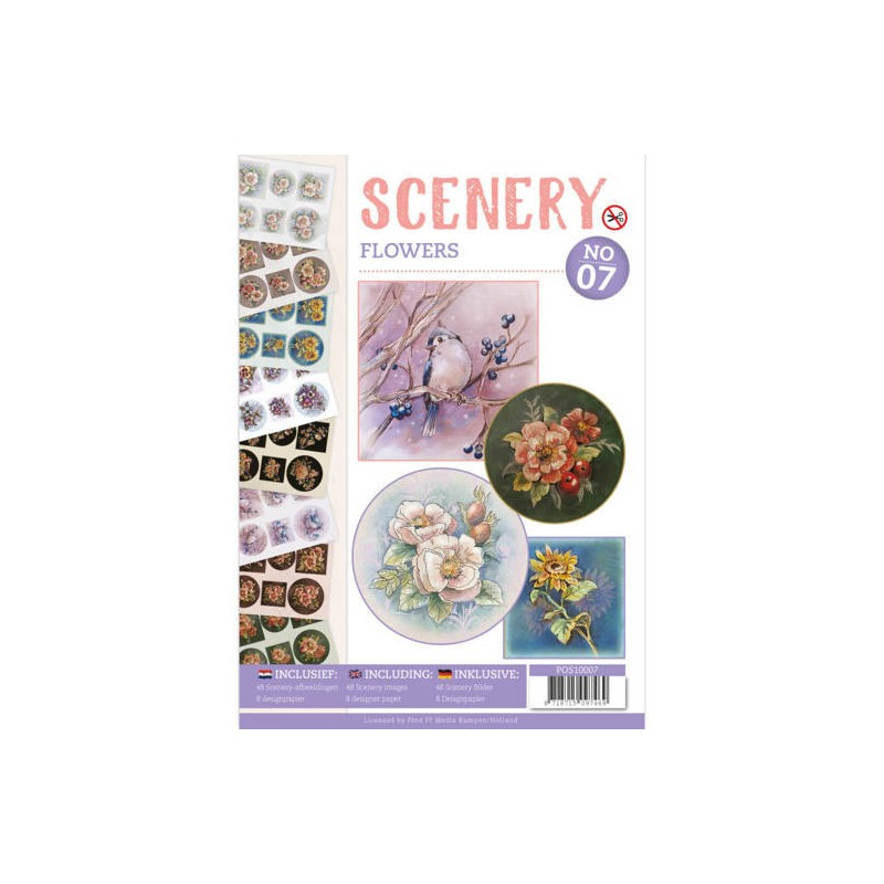 (POS10007)Push Out book Scenery 7