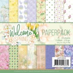 (JAPP10018)Paperpack - Jeanine's Art - Welcome Spring