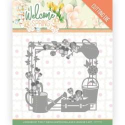 (JAD10111)Dies - Jeanine's Art - Welcome Spring - Spring Frame