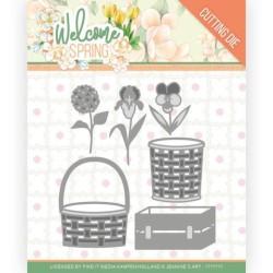 (JAD10116)Dies - Jeanine's Art - Welcome Spring - Spring Basket