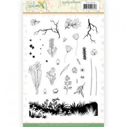 (JACS10035)Clear Stamps - Jeanine's Art - Welcome Spring