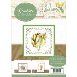 (CB10023)Creative Embroidery 23 - Jeanine's Art - Welcome Spring